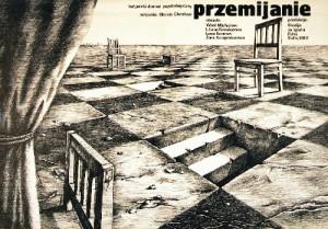 Przemijanie Christo Christov Janusz Obłucki polski plakat