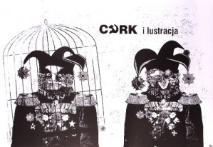 Cyrk ilustracja Bogna Otto-Wegrzyn Polski plakat