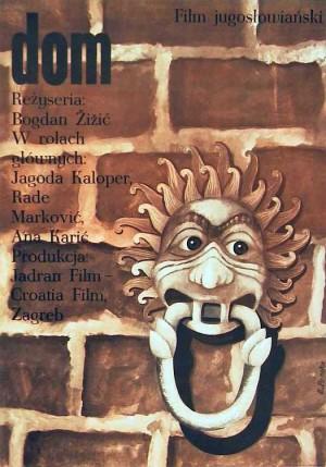 Dom Elżbieta Procka Polski plakat filmowy