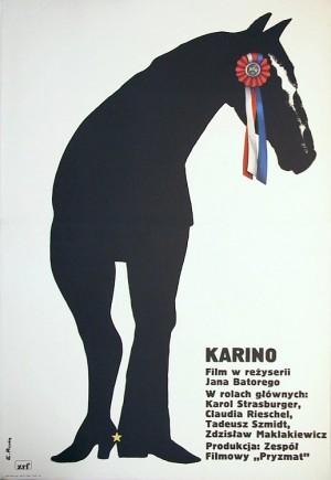 Karino Elżbieta Procka Polski plakat filmowy