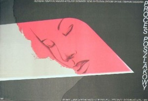 Proces poszlakowy Yoshitaro Nomura Wiesław Rosocha polski plakat