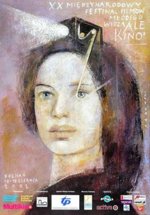 Ale Kino XX Międzynarodowy Festiwal Filmów Młodego Widza Wiktor Sadowski Polski plakat filmowy