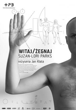 Witaj żegnaj Joanna Górska Jerzy Skakun Polski plakat teatralny