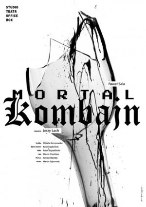 Mortal kombajn Joanna Górska Jerzy Skakun Polski plakat teatralny