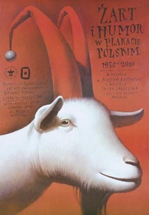 Żart i humor w plakacie Wiesław Wałkuski Polski plakat wystawowy