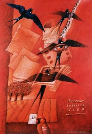 Polnisches Institut Wien Leszek Wiśniewski Polski plakat