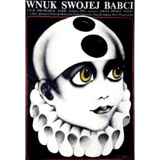 Wnuk swojej babci Adolf Bergunker Danuta Baginska-Andrejew Danka Polskie Plakaty Filmowe
