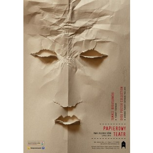 Papierowy teatr Tomasz Bogusławski Polskie Plataty Wystawowe