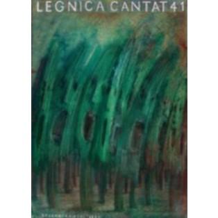 Legnica Cantat 41 Jerzy Czerniawski Polskie Plakaty Operowe