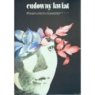 Cudowny kwiat Irina Povolotskaya Maria Ekier Polskie Plakaty Filmowe