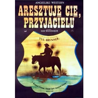 Aresztuję cię przyjacielu Jakub Erol Polskie Plakaty Filmowe