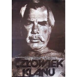Człowiek klanu Sydney Pollack Jakub Erol Polskie Plakaty Filmowe