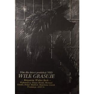 Wilk grasuje Jakub Erol Polskie Plakaty Filmowe