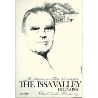 Dolina Issy The Issa valley Jakub Erol Polskie Plakaty Filmowe