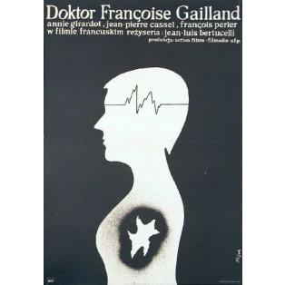 Doktor Francoise Gailland Jean-Louis Bertucelli Jerzy Flisak Polskie Plakaty Filmowe