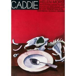 Caddie Jerzy Flisak Polskie Plakaty Filmowe