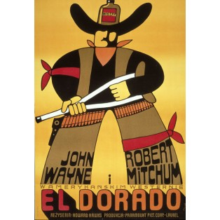 El Dorado Jerzy Flisak Polskie Plakaty Filmowe