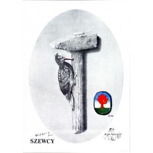 Szewcy Eugeniusz Get Stankiewicz Polskie Plakaty Teatralne