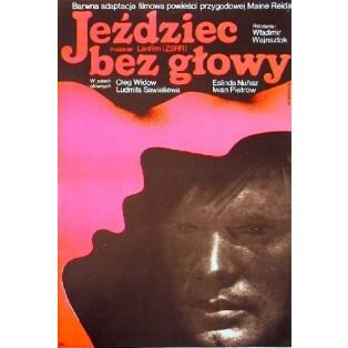 Jeździec bez głowy Vladimir Vajnshtok Wiktor Górka Polskie Plakaty Filmowe
