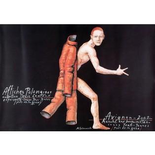 Avignon Affiches Polonaises 2002 Mieczysław Górowski Polskie Plataty Wystawowe