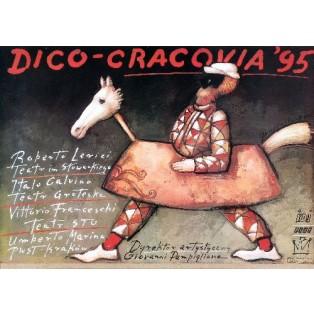 Dico-Cracovia 95 Mieczysław Górowski Polskie Plakaty Teatralne