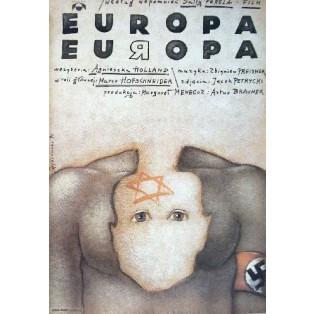 Europa, Europa Agnieszka Holland Mieczysław Górowski Polskie Plakaty Filmowe