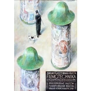 Filmotechnika Zakład Plakatowania Miasta Wiesław Grzegorczyk Polskie Plakaty