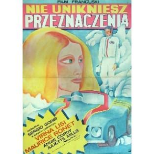Nie unikniesz przeznaczenia Sergio Gobbi Maria Ihnatowicz Polskie Plakaty Filmowe