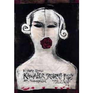 Kawaler Srebrnej Róży Ryszard Kaja Polskie Plakaty Operowe