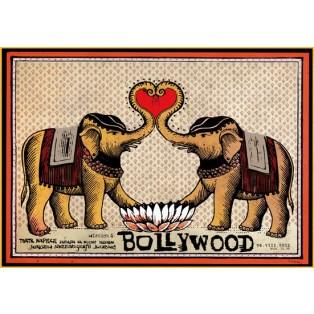 Bollywood Ryszard Kaja Polskie Plakaty Filmowe