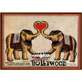 Bollywood Ryszard Kaja Polskie Plakaty