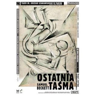 Samuel Beckett, Ostatnia Taśma Ryszard Kaja Polskie Plakaty Teatralne