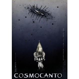 Cosmocanto Ryszard Kaja Polskie Plakaty Teatralne