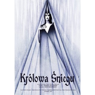 Królowa śniegu Ryszard Kaja Polskie Plakaty Teatralne