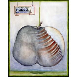 Rodeo Leonard Konopelski Polskie Plakaty Teatralne