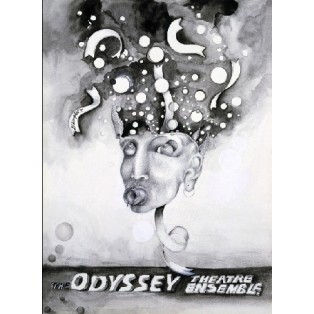The Odyssey Theatre Ensamble Leonard Konopelski Polskie Plakaty Teatralne