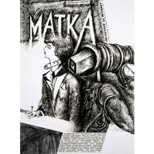 Matka Stanisław Ignacy Witkiewicz Witkacy Leonard Konopelski Polskie Plakaty Teatralne