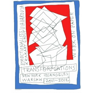 Tranformation Work on Paper Leonard Konopelski Polskie Plakaty