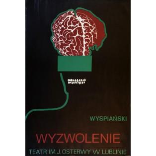 Wyzwolenie Stanisław Wyspiański Leonard Konopelski Polskie Plakaty Teatralne