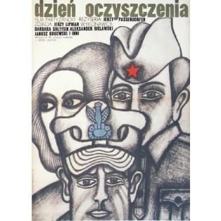 Dzień oczyszczenia Jerzy Passendorfer Andrzej Krajewski Polskie Plakaty Filmowe