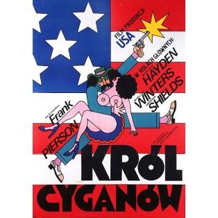 Król cyganów Frank Pierson Andrzej Krajewski Polskie Plakaty Filmowe