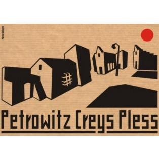 Petrowitz Creys Pless Michał Książek Polskie Plakaty