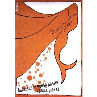 Andersen in Polish poster Michał Książek Polskie Plataty Wystawowe