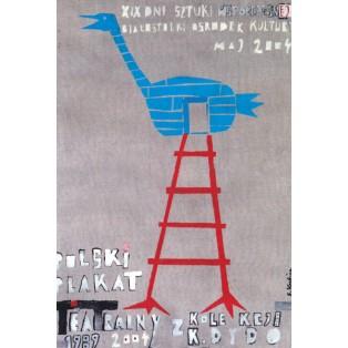 Polski plakat teatralny 1989-2004 Sebastian Kubica Polskie Plataty Wystawowe