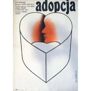 Adopcja Marta Meszaros Lech Majewski Polskie Plakaty Filmowe