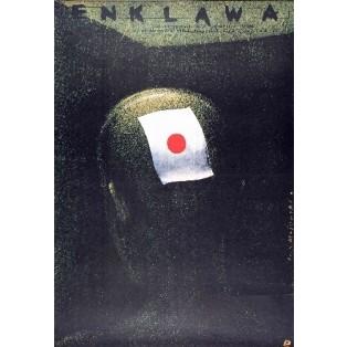 Enklawa Horst E. Brandt Lech Majewski Polskie Plakaty Filmowe