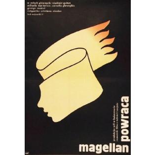 Magellan powraca Cristiana Nicolae Lech Majewski Polskie Plakaty Filmowe