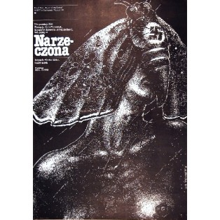 Narzeczona Günther Rücker Lech Majewski Polskie Plakaty Filmowe