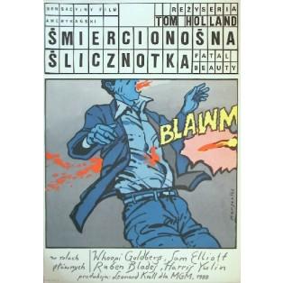 Śmiercionośna ślicznotka Tom Holland Grzegorz Marszałek Polskie Plakaty Filmowe