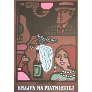 Knajpa na Piatnickiej Aleksandr Fajntsimmer Jan Młodożeniec Polskie Plakaty Filmowe
